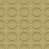 Various Colors of Art Nouveau Style Pattern design. Original Pat Stock Photography