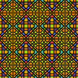 Various Colors of Square grid Pattern. Korean traditional Patter Royalty Free Stock Photography