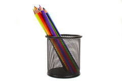 Various colour pencils Stock Images