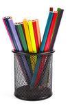 Various colour pencils Royalty Free Stock Image