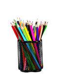 Various colour pencils Stock Photography