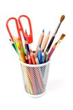 Various colour pencils Royalty Free Stock Photography