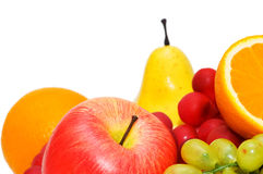 Various colourful fruits. Arranged at the market Stock Photo