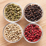 Various colourful pepper Stock Photography