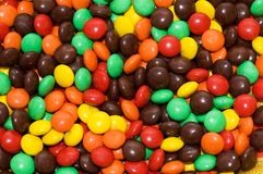 Various colourful sweets Stock Photography