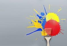 Paint burst Stock Photography