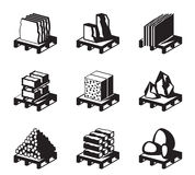 Various construction and building materials Royalty Free Stock Photos