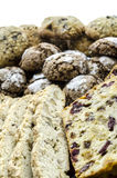 Various cookies closeup Royalty Free Stock Image