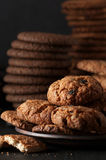 Various cookies in plate Royalty Free Stock Photo
