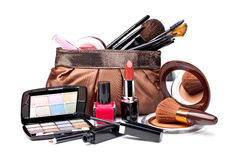 Various Cosmetics Stock Photography