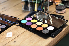 Various cosmetics set on the table Royalty Free Stock Photography