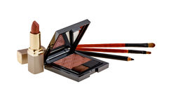 The Various Cosmetics Royalty Free Stock Image