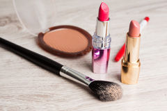 Various Cosmetics Royalty Free Stock Photography