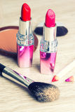 Various Cosmetics Royalty Free Stock Images