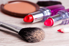 Various Cosmetics Stock Photos