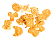 Various crackers and biscuits Stock Photography