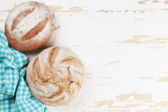 Various crusty bread stock images