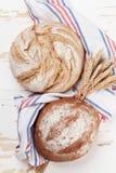 Various crusty bread royalty free stock photo