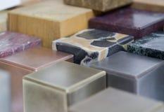 Various cubes detail Stock Image
