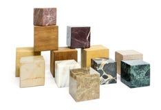 Various cubes Royalty Free Stock Photo