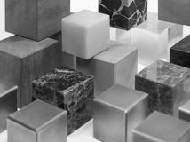 Various cubes Royalty Free Stock Photography