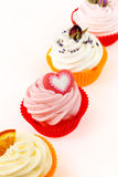 Various cupcakes Royalty Free Stock Image