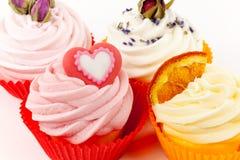 Various cupcakes Stock Photos