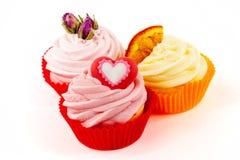Various cupcakes Stock Image