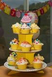 Various Cupcakes Royalty Free Stock Image