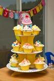 Various Cupcakes Stock Photo