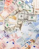 Various currencies Royalty Free Stock Image