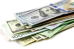 Various currencies Stock Photography