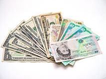 Various Currency Stock Photo