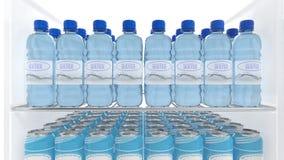 Various 3D water Stock Image