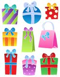 Various decorated gifts 2 Stock Photo