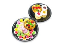 Various of dessert Stock Photo