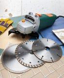 Various detachable disks Stock Photos