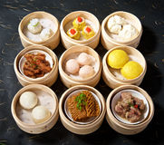 Various Dimsum Set Stock Images