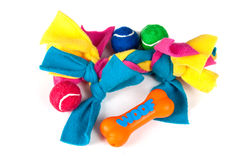 Various Dog Toys Royalty Free Stock Image