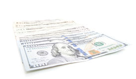 Various dollar notes Stock Photography