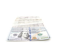 Various dollar notes Royalty Free Stock Images