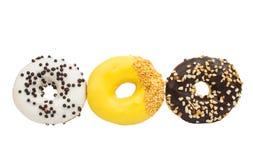 Various donuts Royalty Free Stock Photos