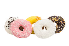 Various donuts Stock Photography