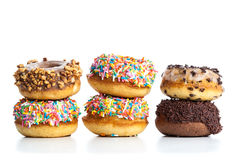 Various donuts Royalty Free Stock Images