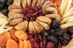 Various dried exotic fruits Royalty Free Stock Photo