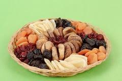 Various dried exotic fruits Stock Photos
