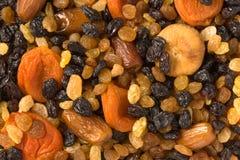 Various dried fruits close-up. Various dried fruits (apricots, dates, raisins, figs) close-up Stock Photos