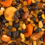 Various dried fruits close-up Royalty Free Stock Photo