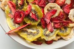 Various dried fruits Stock Photos