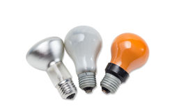 Various electric incandescent lamp Stock Photo